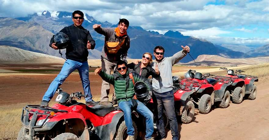ATV Tour to Maras Moray, Machu Picchu Package Tour