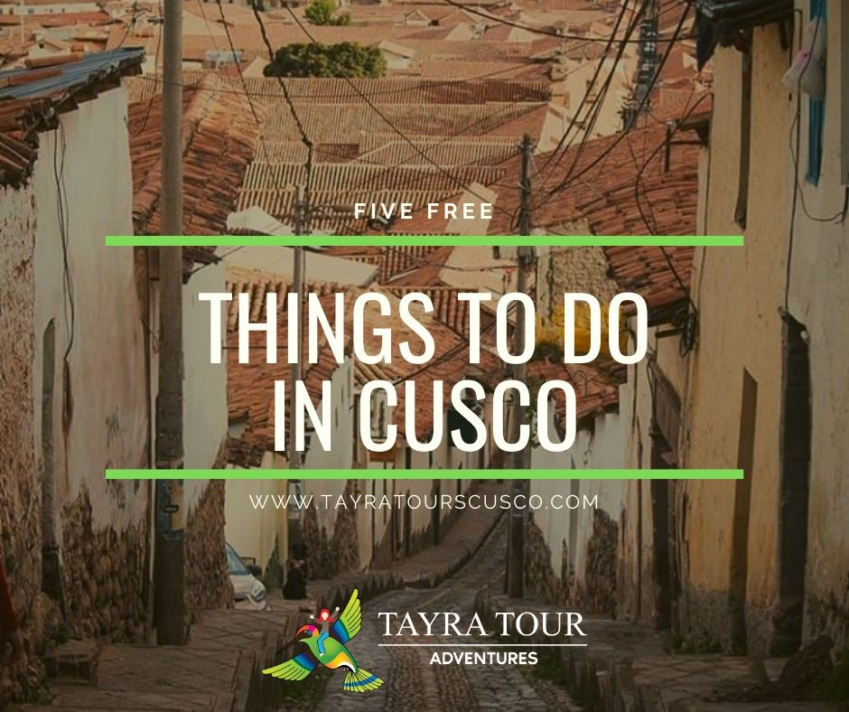 free things to do in Cusco